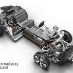 Smartphone New key sistem BMW i8 2014 chassis and engine View