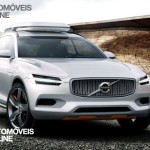 New volvo xc90 concept xc coupe - Front on street view - Detroit Salon 2014
