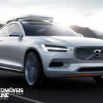 New volvo xc90 concept xc coupe - Front profile right on street view - Detroit Salon 2014