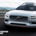 New volvo xc90 concept xc coupe - Front rotate on left view - Detroit Salon 2014